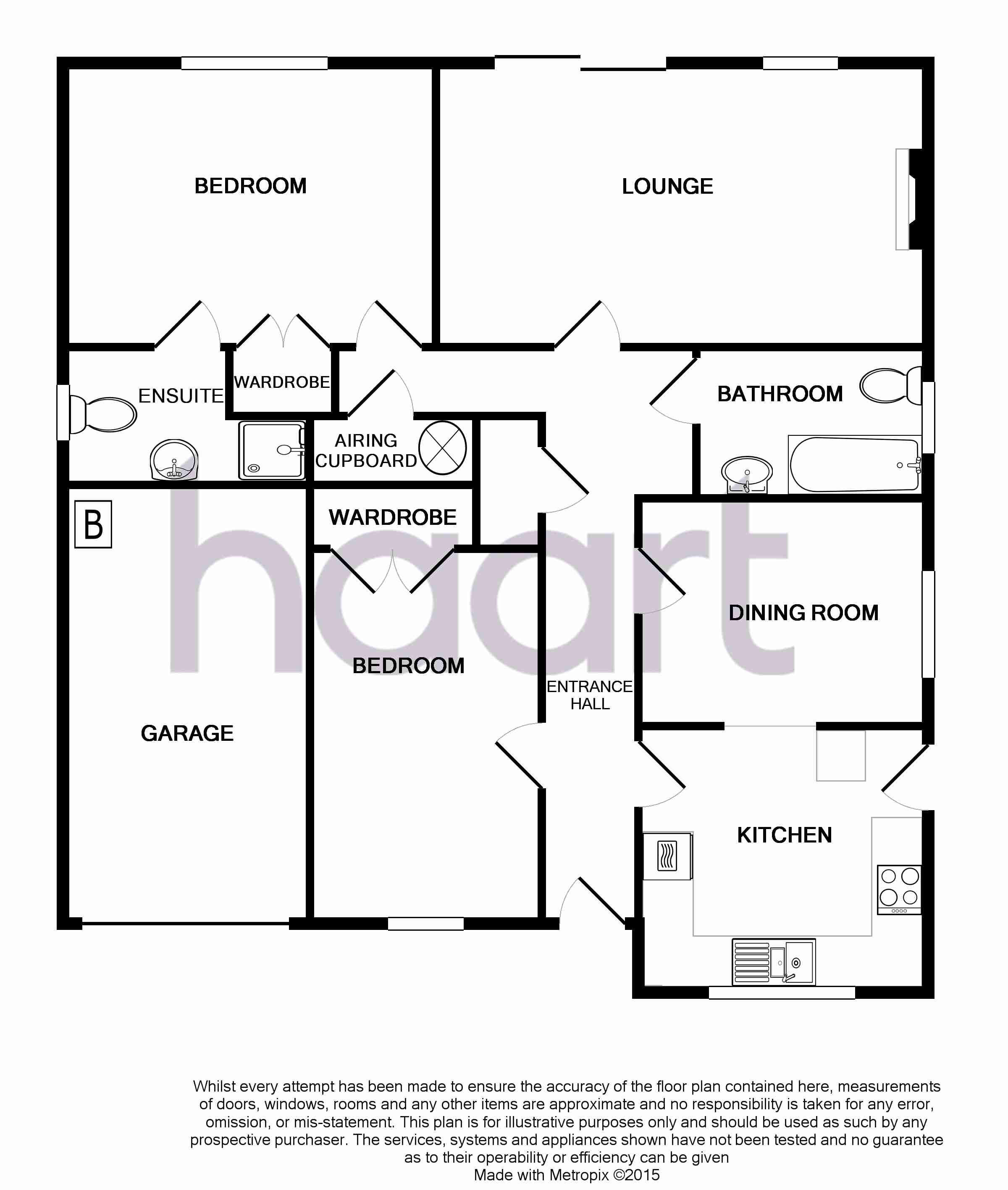 3 bedroom bungalow for sale in kingston mews guide price for 15 bruyeres mews floor plans