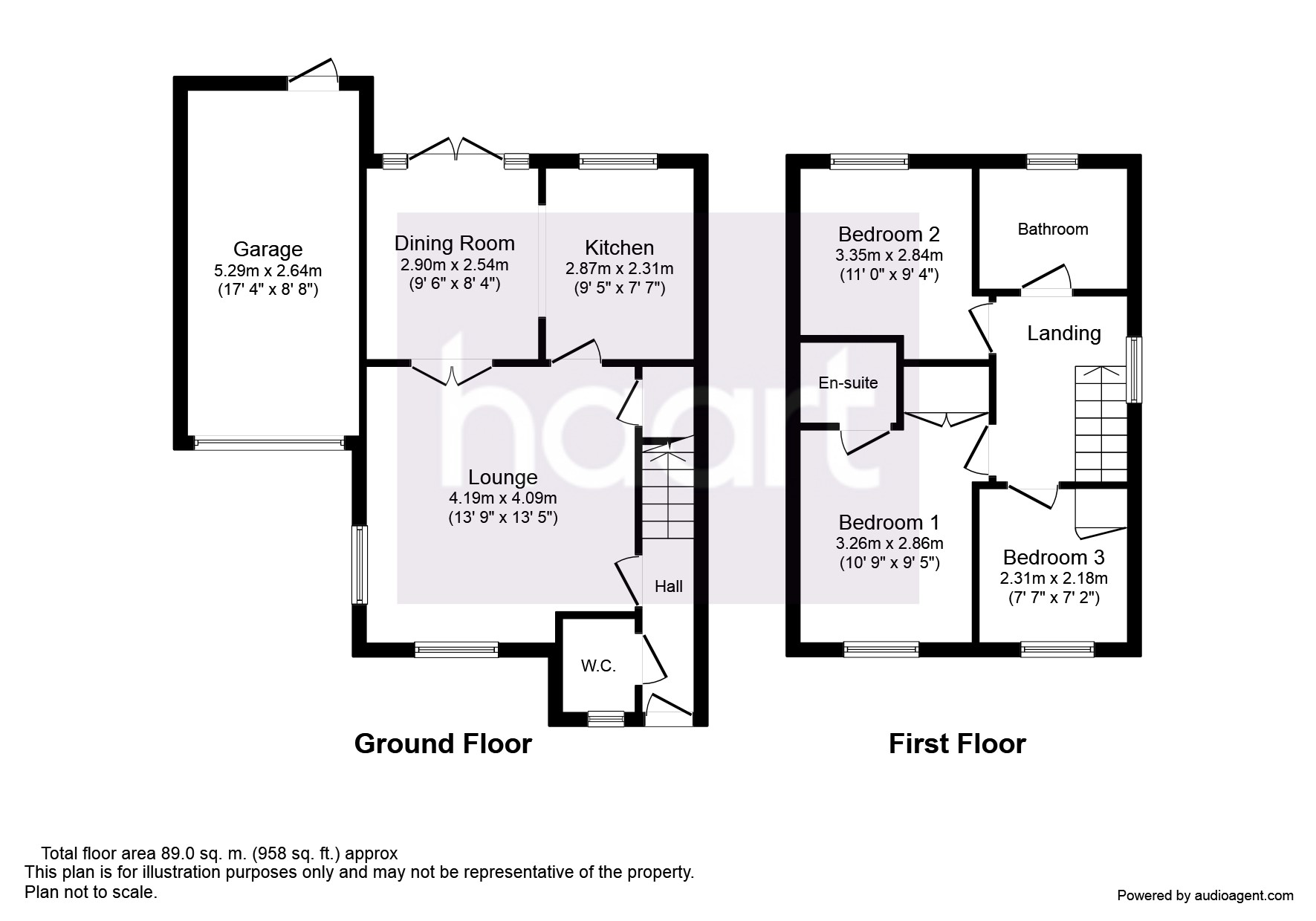 3 bedroom detached house for sale in north shoebury cul for Cul de sac house plans